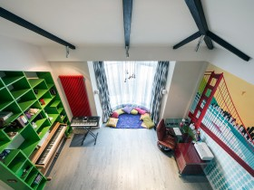 Интерьер комнаты для подростка (вид сверху)