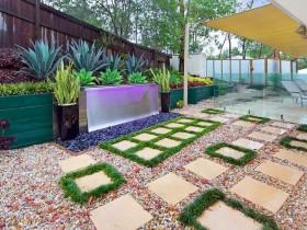 Design contemporary garden