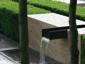 The idea for the modern garden