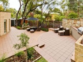 Modern garden landscape design