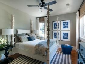 Bedroom in Mediterranean style