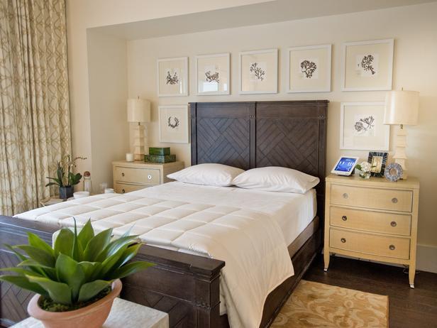 Спальня в теплых тонах фото