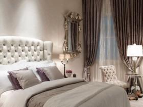 Элитная спальня в светлых оттенках