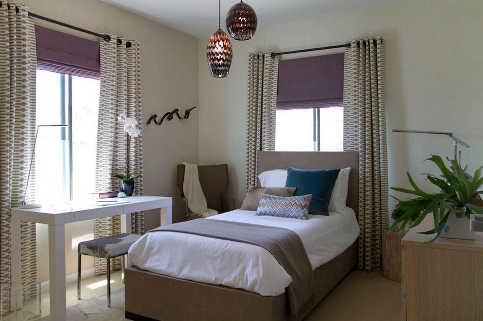 Дизайн окна в спальне фото