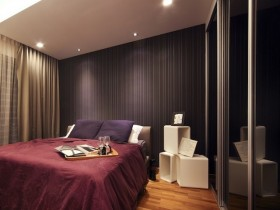 Beautiful interior design dark bedrooms