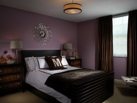 Interior design dark bedrooms