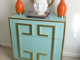 Chest of drawers in a Mediterranean style