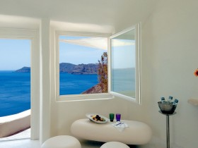 A modern, Mediterranean style