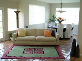 Living room Mediterranean style