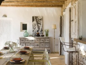Decoration dining room Mediterranean style