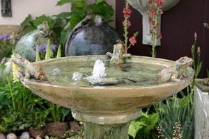 Очистка воды в фонтане