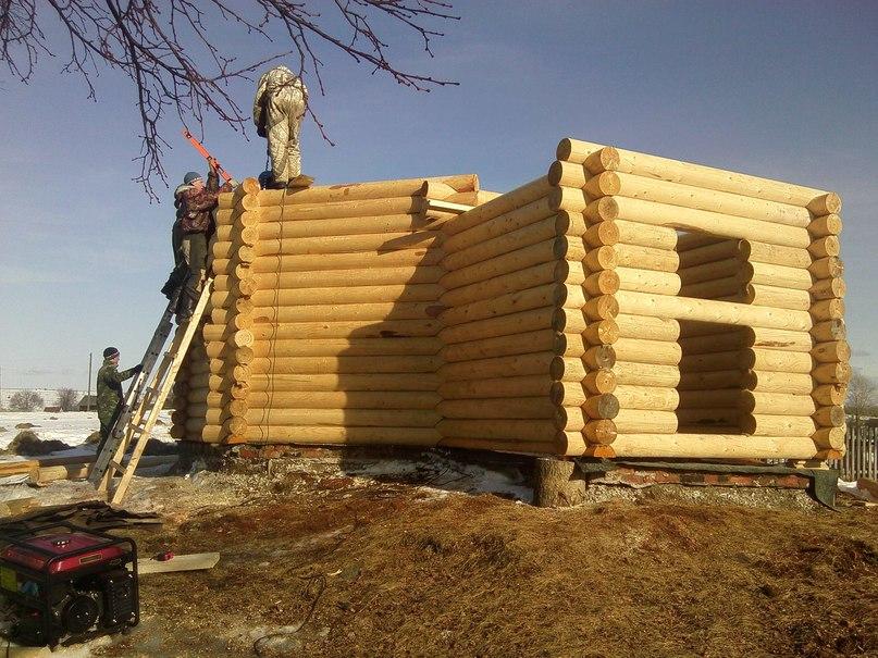 Строительство срубов своими руками