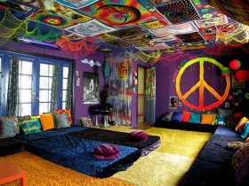 Bedroom hippie