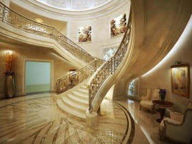 Luxury stairs design