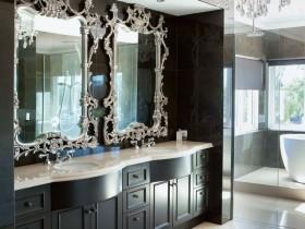 Ванна кімната в стилі класицизм