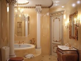 Ванная ў класічным стылі