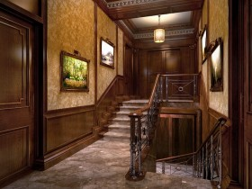 Staircase in the style of classicism