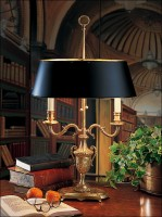The lamp in the classical style