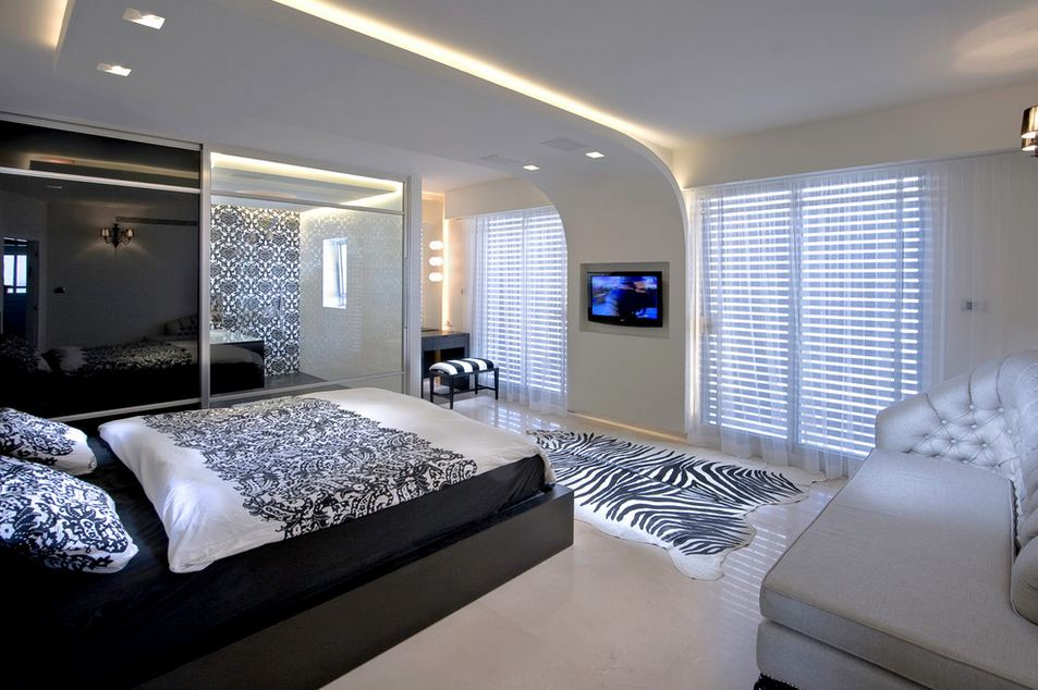 Дизайн спальни 14 кв.м фото в современном стиле
