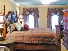 Класічны інтэр'ер спальні