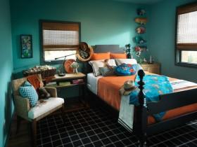 Яркая дзіцячая спальня