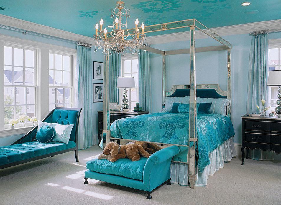 Спальня в тонах фото