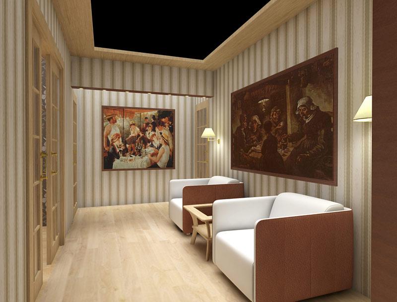 Дизайн потолка в частном доме
