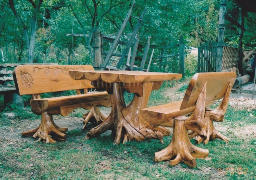 Как сделать стол из ствола дерева