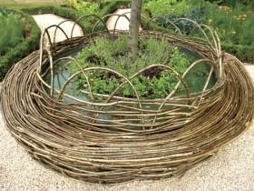 Садовая мэбля з плетени