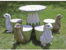 Казачны садовы столік з крэсламі