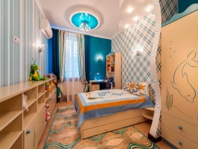 Designer children's room for boy