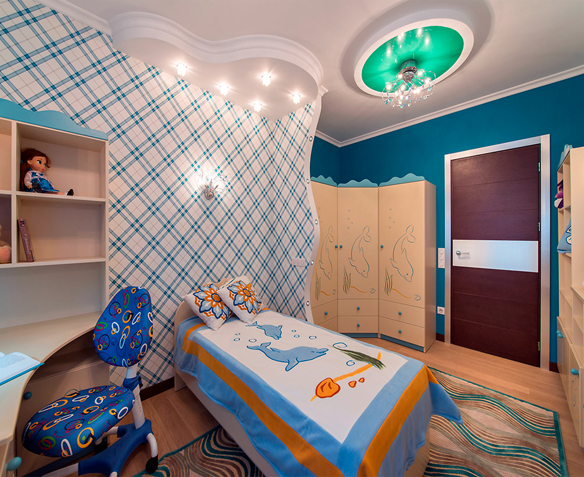 Interior design children's