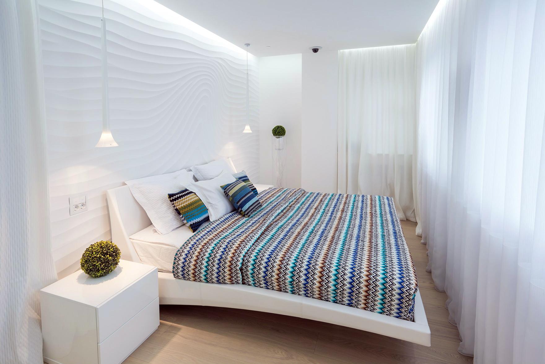Фото трехкомнатной квартиры в светлых тонах