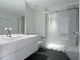 Modern interior bathroom light shade
