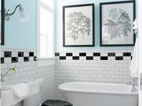 Finish bright bathroom
