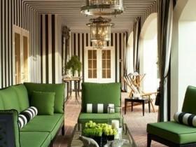 Дизайн террасы в зеленых оттенках