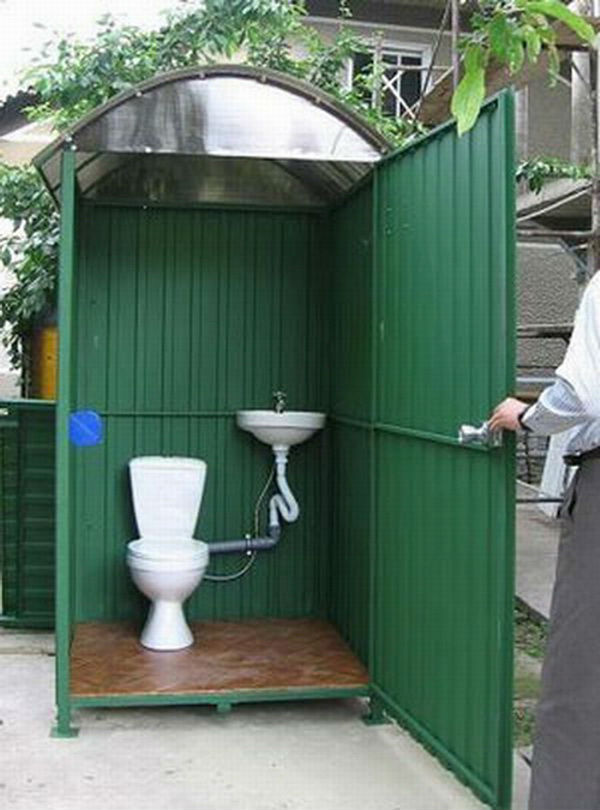 Туалет своими руками видео фото
