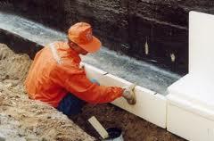 Теплоизоляция фундамента в бане