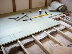 Insulation of the floor