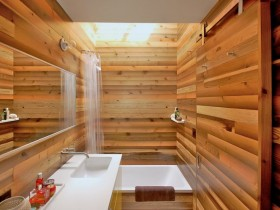 Bathroom wood