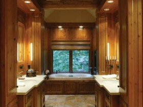 "Beautiful bathroom design ""under the tree"""