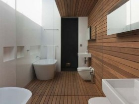 The idea of the bathroom design