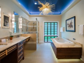 Bathroom with modern design