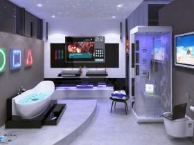 High-tech bathroom