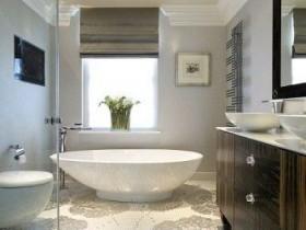 Creative design modern bathroom