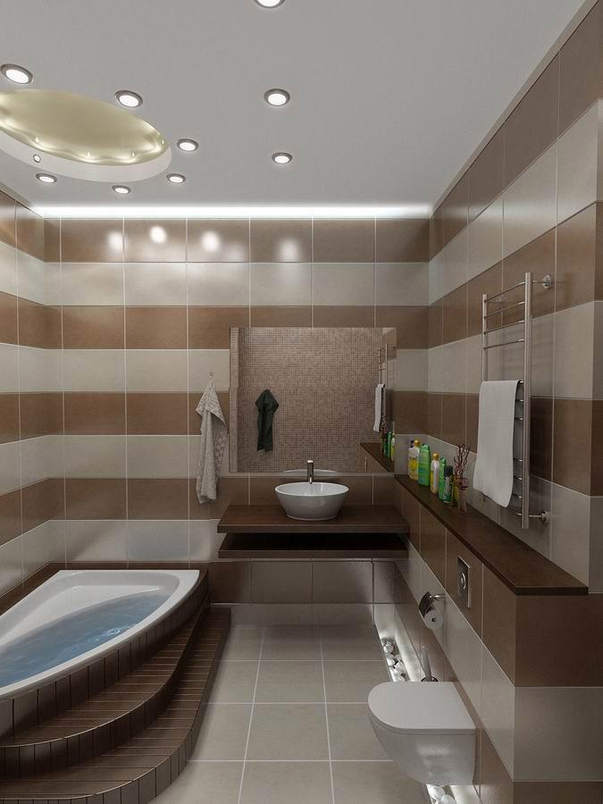 Ванна дизайн интерьера