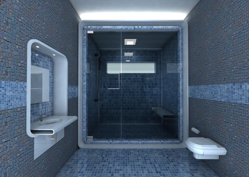Интерактивный дизайн ванной комнаты