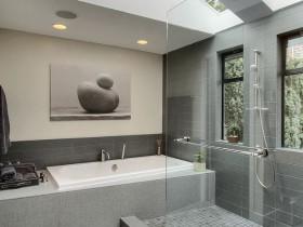 "Bathroom style ""hi-tech"""