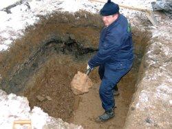 Как сделать яму для канализации своими руками