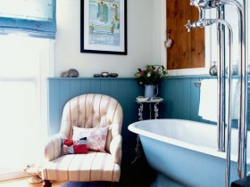 Bathroom with Victorian furniture